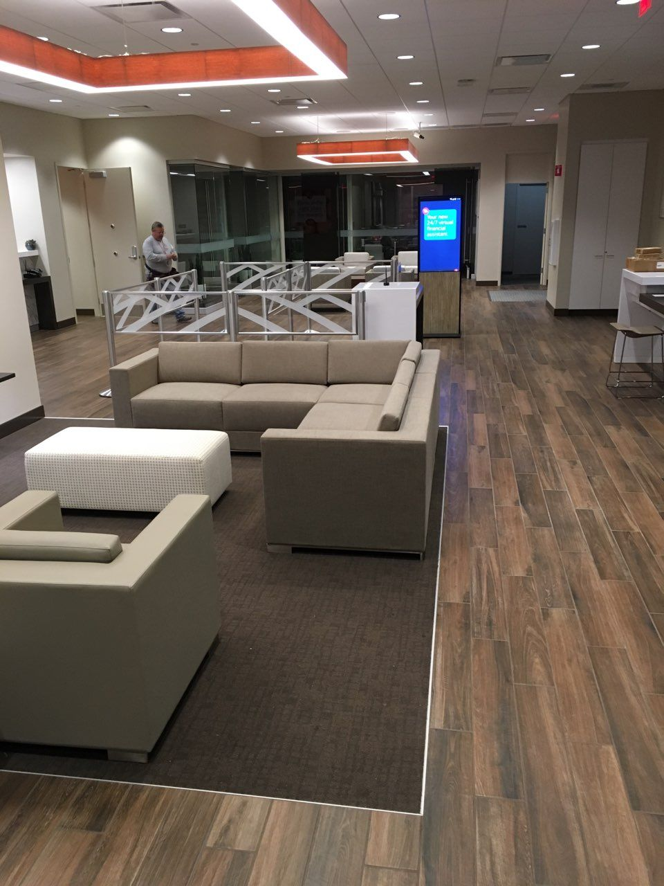 commercial flooring installation walnut creek bank of america
