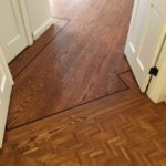 Red Oak Plank & Herringbone Floors Refinished - Lafayette
