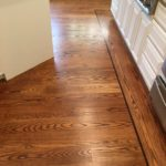 Red Oak Wood Floors Refinished - Lafayette