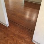 Refinish Herringbone & Red Oak Wood Floors - Lafayette