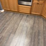 Maple Wood Floor with Country Grey Stain ~ Alamo